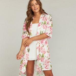 Show Me Your MuMu Brie Robe Garden of Blooms